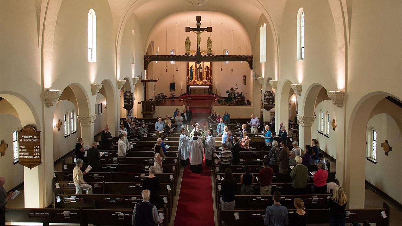 St. Barnabas sanctuary