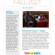 Cover of Fall Newsletter